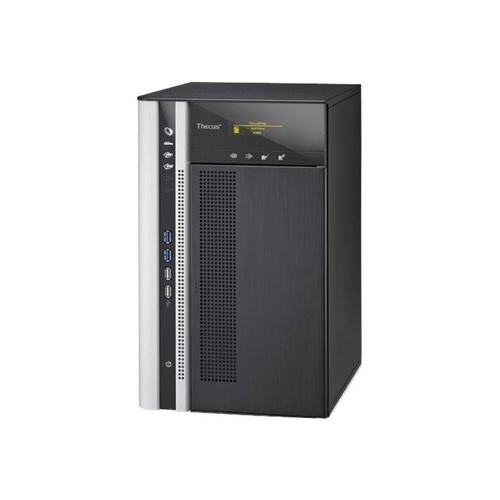 Thecus Technology TopTower N8850 - NAS-Server - 8 Schächte - SATA 3Gb/s - HDD - RAID 0, 1, 5, 6, 10, 50, JBOD, 60 Produktbild Front View L