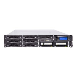 actidata actiNAS SL 2U-8 RDX - NAS-Server - 8 Schächte - 64 TB - Rack - einbaufähig Produktbild