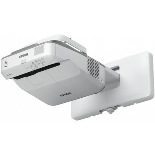 Epson EB-680S - 3-LCD-Projektor - 3500 lm (weiß) - 3500 lm (Farbe) - XGA (1024 x 768) - 4:3 Produktbild Additional View 1 L