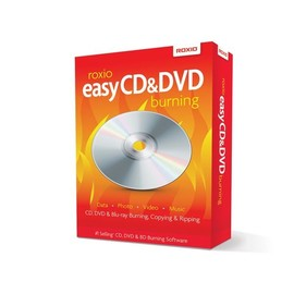 Roxio Easy CD & DVD Burning - Box-Pack - 1 Benutzer - CD - Win - Mehrsprachig Produktbild