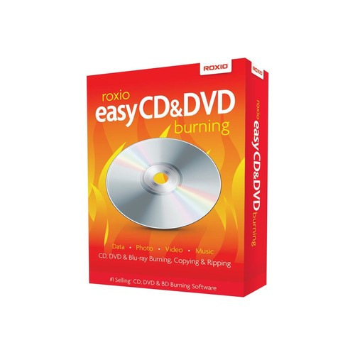 Roxio Easy CD & DVD Burning - Box-Pack - 1 Benutzer - CD - Win - Mehrsprachig Produktbild Additional View 1 L