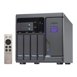 QNAP TVS-682 - NAS-Server - 4 Schächte - SATA 6Gb/s - RAID 0, 1, 5, 6, 10, JBOD, 5 Hot Spare - RAM 8 GB Produktbild