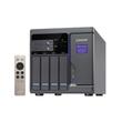 QNAP TVS-682 - NAS-Server - 4 Schächte - SATA 6Gb/s - RAID 0, 1, 5, 6, 10, JBOD, 5 Hot Spare - RAM 8 GB Produktbild Additional View 1 S