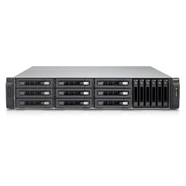 QNAP TVS-EC1580MU-SAS-RP R2 - NAS-Server - 15 Schächte - Rack - einbaufähig - SATA 6Gb/s / SAS 12Gb/s Produktbild