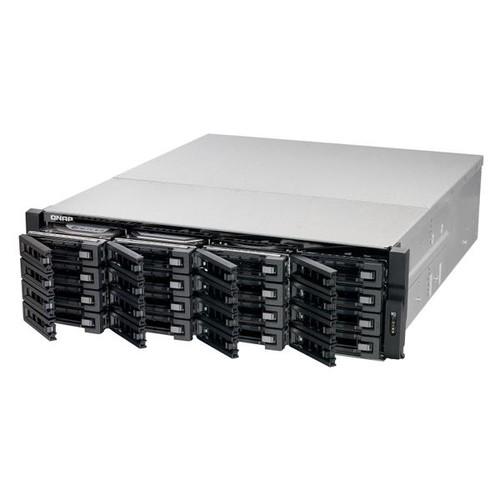 QNAP TS-EC1680U-R2 - NAS-Server - 16 Schächte - Rack - einbaufähig - SATA 6Gb/s Produktbild Additional View 1 L