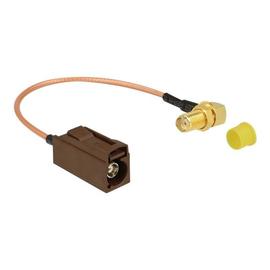 DeLOCK - Antennenkabel - FAKRA F-Stecker (W) bis SMA (M) gewinkelt - 20 cm - Koax Produktbild