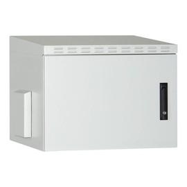 "DIGITUS Professional - Gehäuse - Wand montierbar - Hellgrau, RAL 7035 - 12U - 48.3 cm (19"") Produktbild"