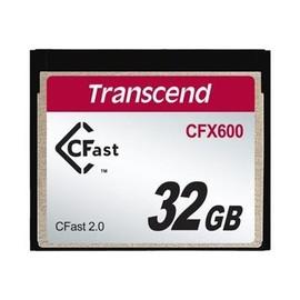 Transcend CFast 2.0 CFX600 - Flash-Speicherkarte - 32 GB - CFast 2.0 Produktbild