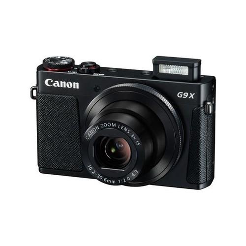 Canon PowerShot G9 X - Digitalkamera - Kompaktkamera - 20.2 MPix - 1080p / 59.94 BpS - 3x optischer Zoom Produktbild Additional View 1 L