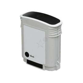 Tintenpatrone (C4906AE) für Officejet 8000/8500 58ml schwarz BestStandard Produktbild