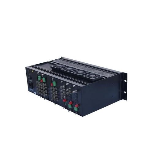 LevelOne CVH-2100 - Modulare Erweiterungseinheit - 3U - Rack-montierbar Produktbild Additional View 1 L