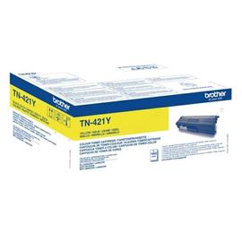 Toner für HL-L8360/8260/8690/8900 1800 Seiten yellow Brother TN-421Y Produktbild