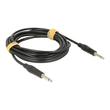 DeLOCK - Audiokabel - Mono-Stecker (M) bis Mono-Stecker (M) - 4.5 m - abgeschirmt - Schwarz Produktbild