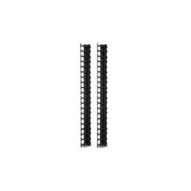 APC - Kabelführungsplatte für Schaltschrank - Schwarz - 42U (Packung mit 2) - für NetShelter SX Produktbild