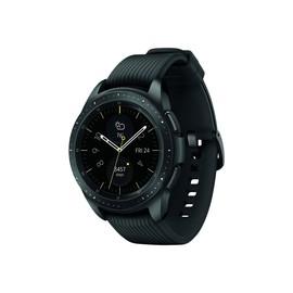 """Samsung Galaxy Watch - 42 mm - Midnight Black - intelligente Uhr mit Band - Silikon - Anzeige 3.05 cm (1.2"""") Produktbild"""