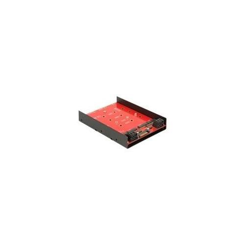 DeLOCK - Speicher-Controller - SATA 6Gb/s - 6 Gbit/s - SATA 6Gb/s Produktbild Front View L