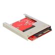 """DeLOCK Converter SATA 22 pin > mSATA with 2.5"""" Frame - Schnittstellenadapter - mSATA - mSATA - SAS 6Gb/s, SATA 6Gb/s Produktbild"""
