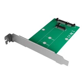 RaidSonic ICY BOX IB-CVB516 - Schnittstellenadapter - M.2 - M.2 Card - 6 GBps - SATA 6Gb/s Produktbild