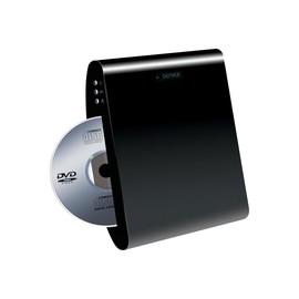 DENVER DWM-100USB - DVD-Player - Hochskalierung - Wandmontage möglich - Schwarz Produktbild