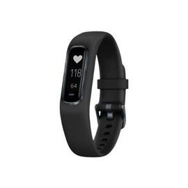 Garmin vivosmart 4 - Midnight Black - Aktivitätsmesser mit Band - Silikon - schwarz - Bandgröße 148-215 mm Produktbild