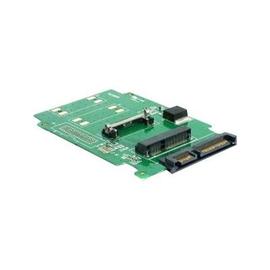 """DeLOCK Converter SATA 22 pin > mSATA half size - Speicher-Controller - 2.5"""" (6.4 cm) - SATA 3Gb/s - SATA 3Gb/s Produktbild"""