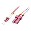 Lindy - Patch-Kabel - SC multi-mode (M) bis LC Multi-Mode (M) - 1 m - Glasfaser - 50/125 Mikrometer Produktbild