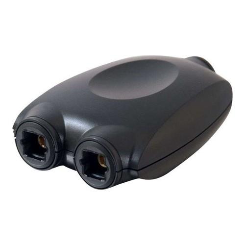 C2G - Digitaler Audiosplitter (optisch) - TOSLINK (W) bis TOSLINK (W) Produktbild Front View L