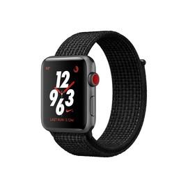 Apple Watch Nike+ Series 3 (GPS + Cellular) - 42 mm - Weltraum grau Aluminium - intelligente Uhr mit Nike Produktbild