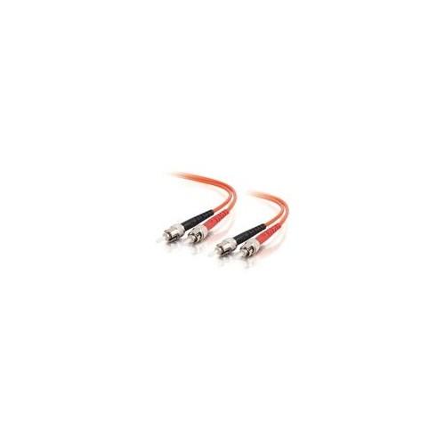 C2G ST-ST 50/125 OM2 Duplex Multimode PVC Fiber Optic Cable (LSZH) - Patch-Kabel - ST multi-mode (M) bis ST Produktbild Additional View 1 L