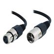 C2G Pro-Audio - Audiokabel - XLR3 (M) bis XLR3 (W) - 5 m - SFTP-Kabel Produktbild