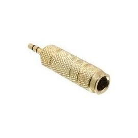 DeLOCK - Audio-Adapter - Mini-Phone Stereo 3,5 mm (M) bis Stereo-Stecker (W) Produktbild