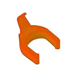PatchSee PatchClip OR/PC - Kabelklammer - orange (Packung mit 50) Produktbild