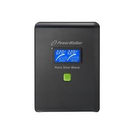PowerWalker VI 2000 PSW/Schuko - USV - 1400 Watt - 2000 VA 10 Ah - USB - Ausgangsbuchsen: 4 Produktbild