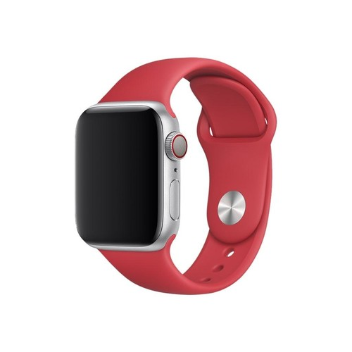 APPLE 40mm (PRODUCT)RED Sport Band Produktbild Front View L