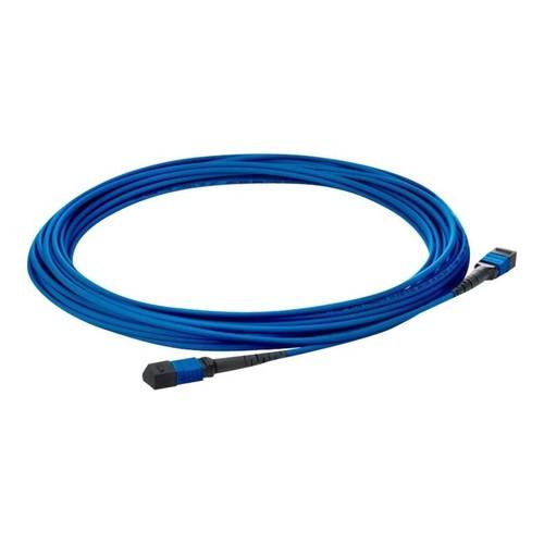 HPE PremierFlex - Netzwerkkabel - MPO-Multi-Modus (M) bis MPO-Multi-Modus (M) - 50 m - Glasfaser - 50/125 Produktbild Front View L