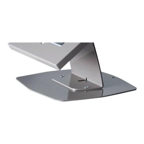 HAGOR TSG Tablestand - Befestigungskit (Tischmontage, Gehäuse, Trägerplatte) - Silber Produktbild Front View L