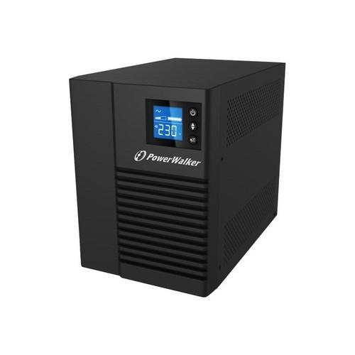 PowerWalker VI 750T/HID - USV - Wechselstrom 220/230/240 V - 500 Watt - 750 VA 9 Ah - USB Produktbild Front View L