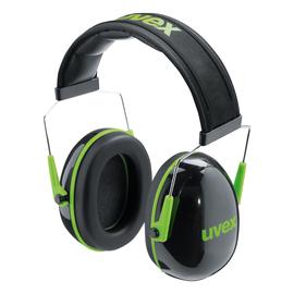 Kapselgehörschützer K1 schwarz/grün UVEX 2600001 Produktbild