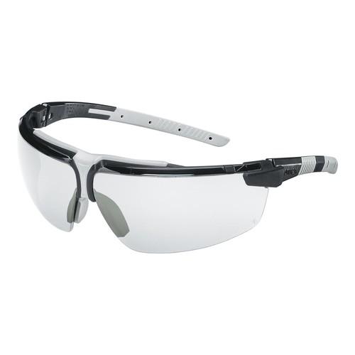 Schutzbrille i-3 SV HC/AF farblos schwarz/hellgrau UVEX 9190 280 Produktbild Front View L
