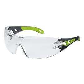 Schutzbrille pheos HC/AF farblos schwarz/grün UVEX 9192 225 Produktbild