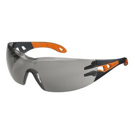 Schutzbrille pheos HC/AF grau schwarz/orange UVEX 9192 245 Produktbild