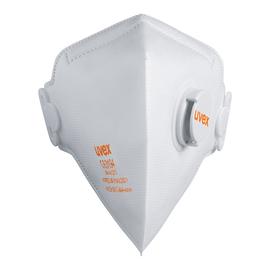 Atemschutzmaske Silv-Air FFP2 m.Ventil uvex 8733210 (PACK=15 STÜCK) Produktbild