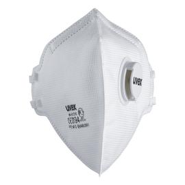 Atemschutzmaske Silv-Air FFP3 m.Ventil UVEX 8733310 (PACK=15 STÜCK) Produktbild