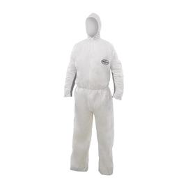 Einwegschutzanzug A25+ mit Kapuze S atmungsaktiv weiß KleenGuard 89770 Produktbild