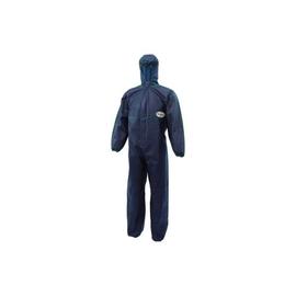 Einwegschutzanzug A10 mit Kapuze L Spinnvlies blau KleenGuard 95650 Produktbild