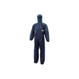 Einwegschutzanzug A10 mit Kapuze XL Spinnvlies blau KleenGuard 95660 Produktbild