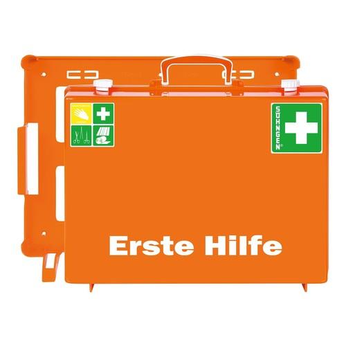 Erste-Hilfe-Koffer MT-CD 40x30x15cm orange gefüllt nach DIN 13169 Söhngen 3001155 Produktbild Front View L
