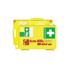 Erste-Hilfe-Koffer EXTRA für Büro 26x17x11cm leuchtgelb gefüllt nach DIN 13157 Söhngen 0320126 Produktbild