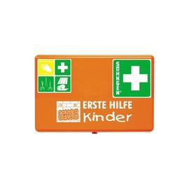 Erste-Hilfe-Koffer SCHULE 26x16x8cm orange gefüllt Söhngen 0350051 Produktbild