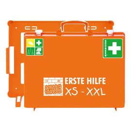 Erste-Hilfe-Koffer SCHULE XS-XXL MT-CD 40x30x15cm orange gefüllt nach DIN 13169 Söhngen 350109 Produktbild